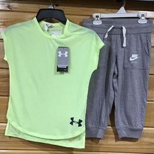 🆕 UA * Nike Set